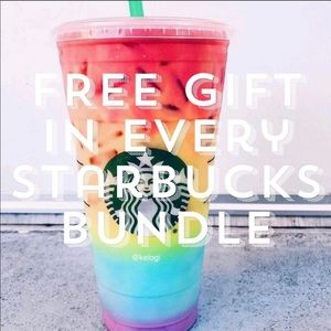 FREE GIFT IN EVERY STARBUCKS BUNDLE ORDER